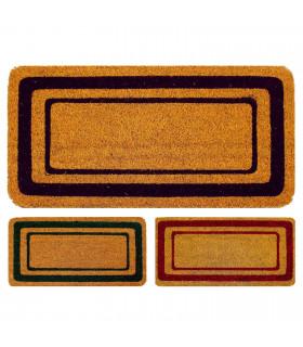 3 colors non-slip coconut doormat