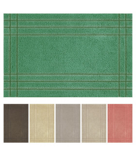 Duna tappeto da bagno 6 colori