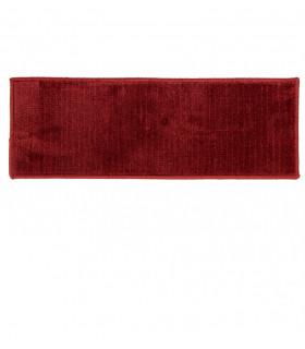 Red microfiber mat ideal as a doormat