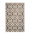 ART - Twist Brown Tappeto dal design moderno per arredo camera, soggiorno, ufficio, 6 misure