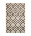 ENG   ART - Twist Brown Carpet with a modern design for bedroom, living room, office furniture, 6 sizes