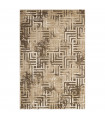 OPERA 2 - HYPNO BROWN Classic rug with relief work, for living room, living room, bedroom or office furniture, various sizes