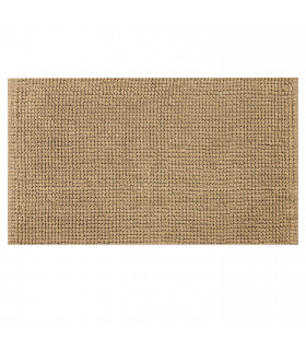 Corn model bathroom rug in beige