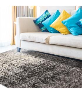 ART - Degradè black, tappeto di design da arredo ambientata