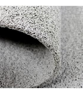 TWIST - GRAY, vinyl outdoor doormat. Tailored. detail