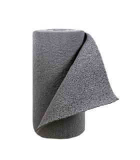 TWIST - GRAY, vinyl outdoor doormat. Tailored. roll