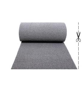 TWIST - GRAY, vinyl outdoor doormat. Tailored. CUT
