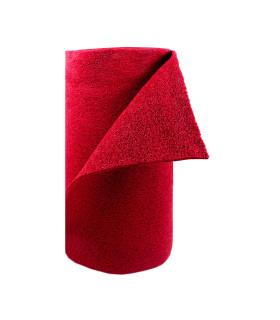 TWIST - red, vinyl outdoor doormat. Tailored. roll
