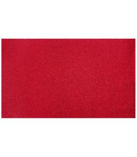 TWIST - red, vinyl outdoor doormat. Tailored.