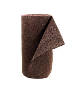 TWIST - MARRONE, zerbino da esterno in vinilico. Su misura. rotolo