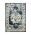 ANTIQUE - Blue 1 Tappeto arredo classico effetto vintage per salotto, camera da letto, ufficio, 5 misure