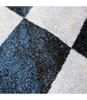 ART - Geometric Blue, design furniture carpet detail