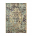 ANTIQUE - Blue 2, furniture rug with classic vintage effect design. Assorted measures