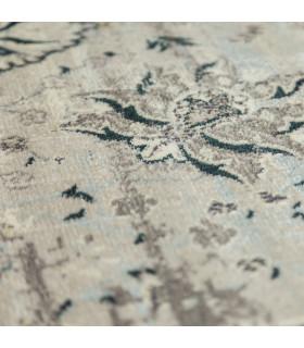 ANTIQUE – Grey Light Blue tappeto arredo con disegno classico effetto vintage. Misure assortite dettaglio