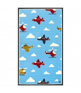 Tappeto per bambini BABY 100x170 AIRPLANE
