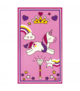 Children's rug BABY 100x170 UNICORN PINK