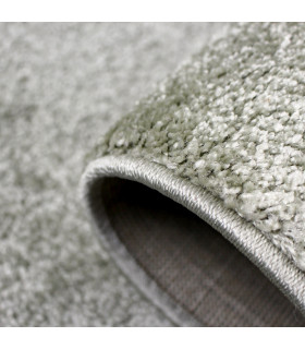 TREND - Sage, Modern plain carpet, available in various sizes. detail two