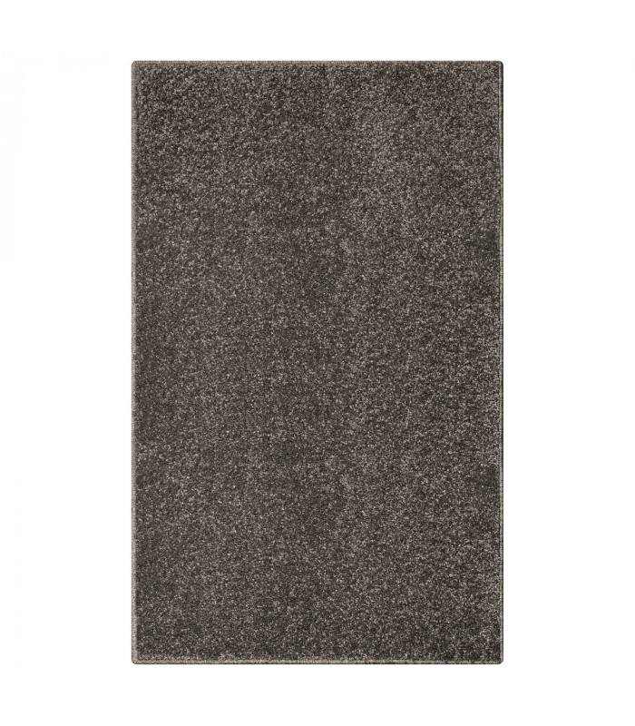 TREND - Anthracite, Modern plain carpet, available in various sizes.