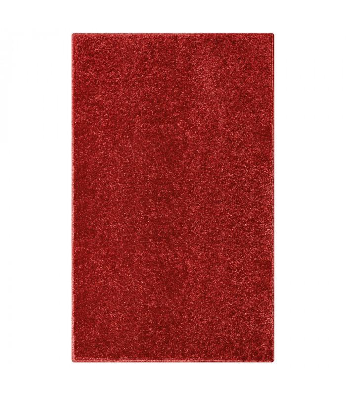TREND - Rosso, Tappeto moderno in tinta unita, disponibile in varie misure.