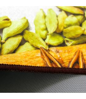 Tappeto cucina mod. MIAMI passatoia disegno digitale antiscivolo varie misure variante SPICES dettaglio