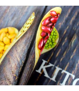 Tappeto cucina modello MIAMI passatoia antiscivolo variante KITCHEN dettaglio