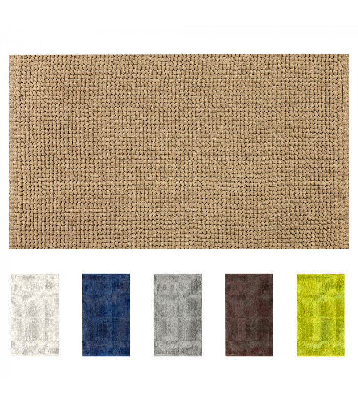 Corn model bathroom rug in different colors