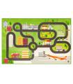 Play mat for children mod. ROAD DIGITAL - AIRPORT