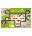 ROAD DIGITAL - ROAD CIRCUIT, Tappeto da gioco per Bambini con stampe ad alta risoluzione, misure assortite.