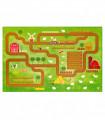 Play mat for children mod. ROAD DIGITAL - FARM