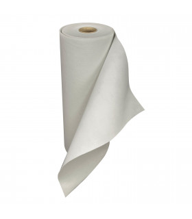 White runner with carpet effect film for events, ceremonies and weddings or runners for shops - roll