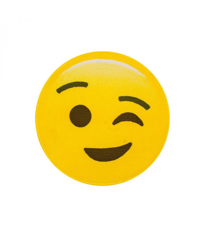 Tappeto Design moderno SMILE EMOJI 67cm - BLINKY