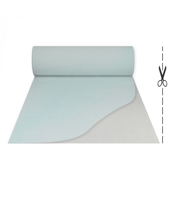 White runner with carpet effect film for events, ceremonies and weddings or runners for shops.
