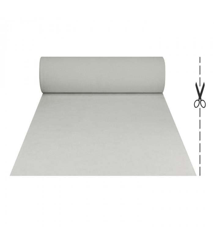 tappeto bianco su misura per matrimonio