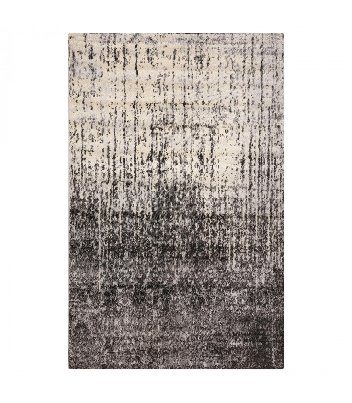 ART - Degradè black, tappeto di design da arredo