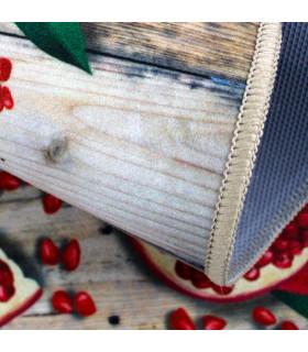 Tappeto cucina mod. MIAMI passatoia disegno digitale antiscivolo varie misure variante MELOGRANO zoom