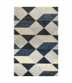 ART -  Geometric Blue Tappeto arredo dal design moderno per camera, salotto, ufficio, 4 misure