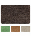 Nuvola soft microfiber bath mat in various colors and sizes