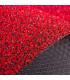 GARDEN - Rosso, Zerbino su misura in cocco sintetico effetto melange