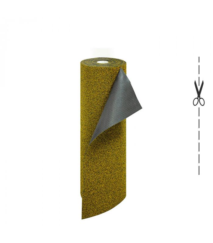 Zerbino in Cocco Sintetico su Misura Spessore 5 mm. Zerbino Tinta Unita Melange BEIGE