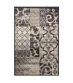 ART - Maiolica black Tappeto arredo dal design moderno per camera, salotto, ufficio, 4 misure