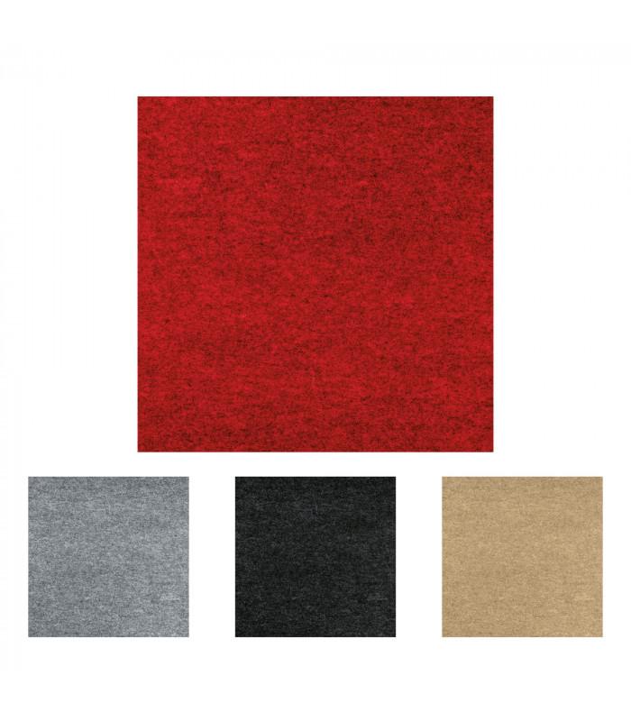 DAMA Certified self-adhesive carpet tiles - Kit 12 pieces (1.92 Mquadri)
