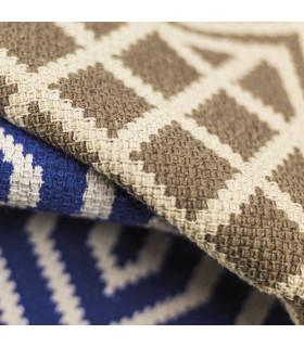 Dettaglio MELODY tappeto multiuso 100% cotone colore nocciola