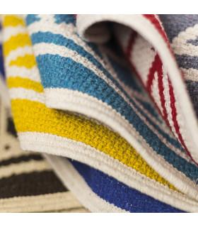 MELODY tappeto multiuso 100% cotone dettaglio colori