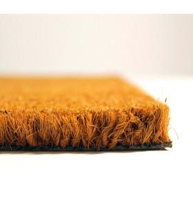 COCCO 1m - Zerbino in fibra di cocco naturale, cattura sporco. Su misura, da ingresso. dettaglio