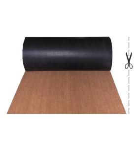 COCCO 2m - Zerbino in fibra di cocco naturale, cattura sporco. Su misura, da ingresso.