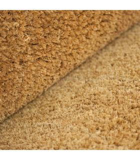 COCCO 2m - Zerbino in fibra di cocco naturale, cattura sporco. Su misura, da ingresso. dettaglio