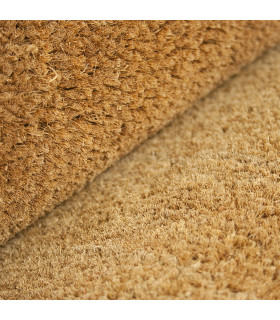 COCONUT ROLL 2m - Doormat in natural coconut fiber, captures dirt. Made to measure, for entrance. detail