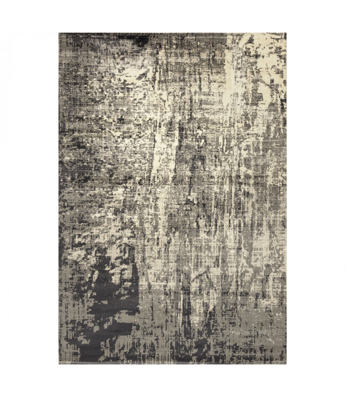 ANTIQUE - Gray 1. Furnishing carpet with classic vintage effect design. Assorted measures
