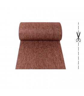 ZEN tappeto corsia stuoia tipo rattan vimini passatoia antiscivolo SU MISURA a taglio