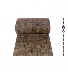 ZEN tappeto corsia stuoia tipo rattan vimini passatoia antiscivolo a taglio